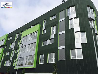 Muros de cortina en fachadas | Higuerasa
